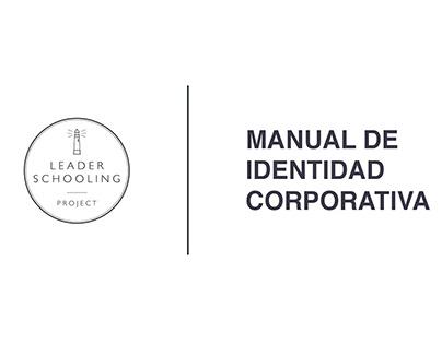 Identidad corporativa - Leader Schooling Pr
