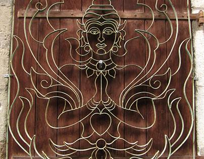 Zen wrought iron work