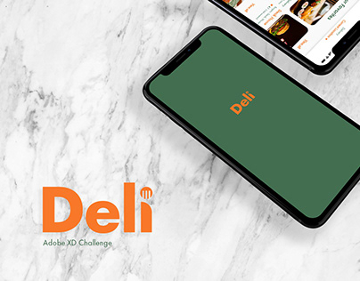 XD Daily Challenge - Food Delivery App - Deli