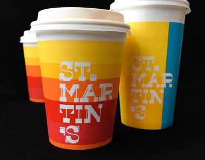 St Martin's cafe brandmark