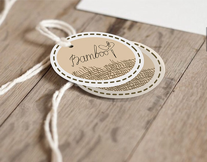 Label design for bamboo textiles