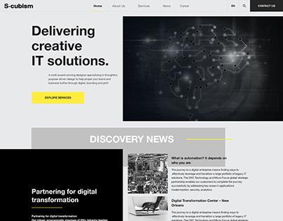 Dark Technology Website