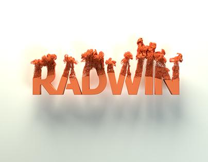 Radwin logo disintegration