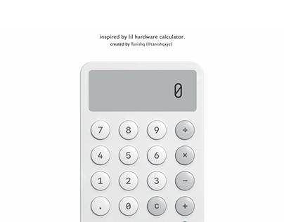 Working Prototype - Lil Software Calculator