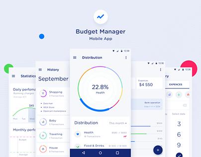 Budget Manager Mobile App