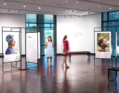 Refugee is Not My Name: Exhibition Design