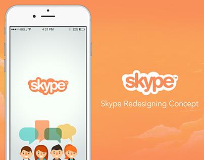 Skype Redesigning Concept