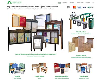 Greenbarnes Website Design and Development