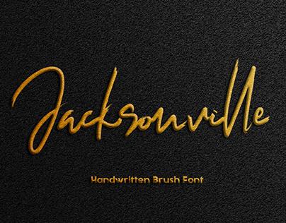 Jacksonville || Handwritten Brush Font