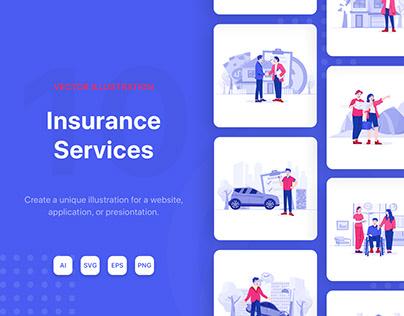 Insurance Service Illustrations