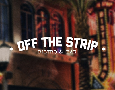 Off The Strip Bar - Brand Identity + Website