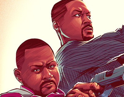 Bad Boys for life - Poster fan-art