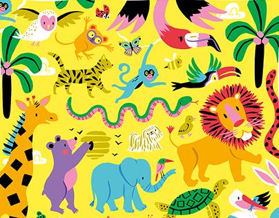 Animals / Poster Design