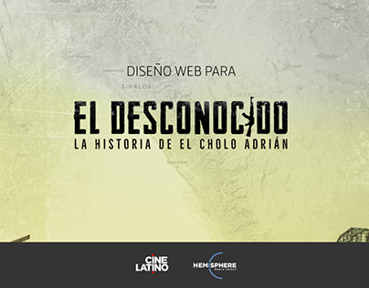 UX web design para serie de Cine Latino