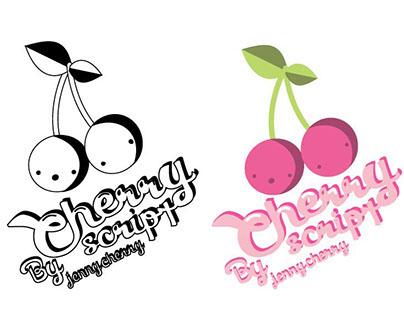 Cherry script Font