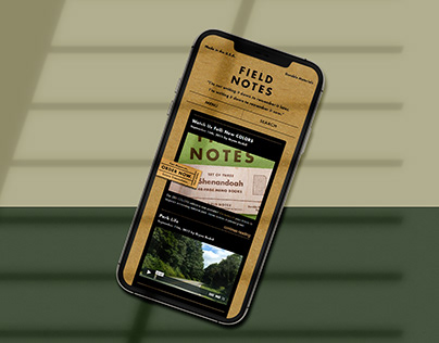 Field Notes | Mobile UX Case Study
