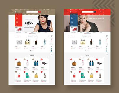 Lotte Duty free e-shop proposal 2016