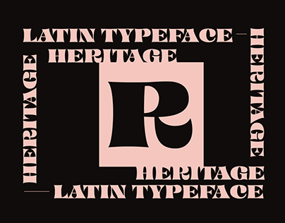 Heritage_Display Font