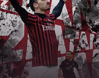 Zlatan Ibrahimovic Milan 2020