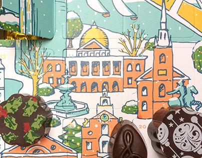 Serenade Chocolatier Boston Advent Calendar