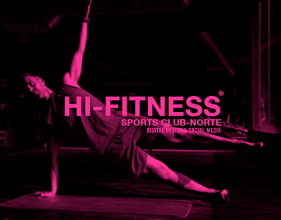 Hi Fitness - Motion Graphics & Social media manager.
