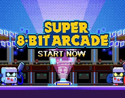 [Brawl Stars] SUPER 8-BIT ARCADE! / Pixel Art