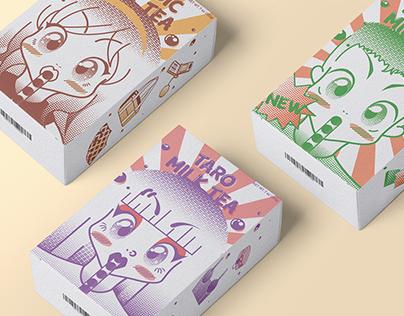 PaoCha Instant Milk Tea Packs|Packaging
