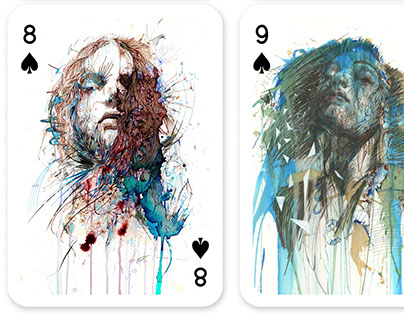 Carne Griffiths Playing Cards