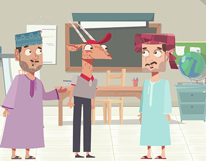Characters Animation Test for a Tv Ad