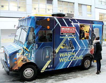 Modell's Super Bowl 48 Hot Chocolate Truck