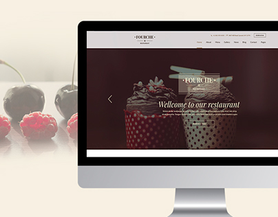 Fourche restaurant template
