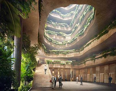 RMJM win competition to design Sanko Headquarters