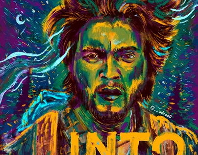 Into the wild   Digital poster