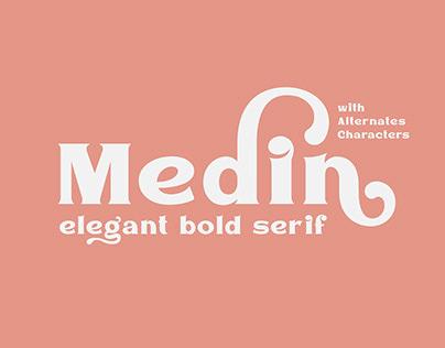 Medin Elegant Font