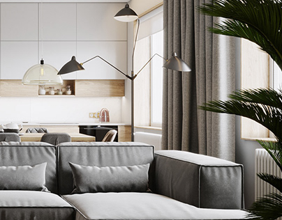 118 m2 Eco-Minimalistic flat
