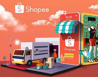 Impresso Shopee / Correios