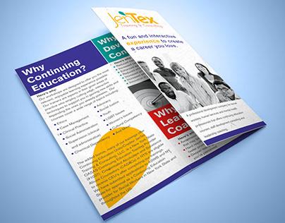 JenTex | Trifold Brochure