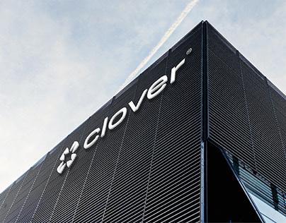 Clover Aviation Brand Identity