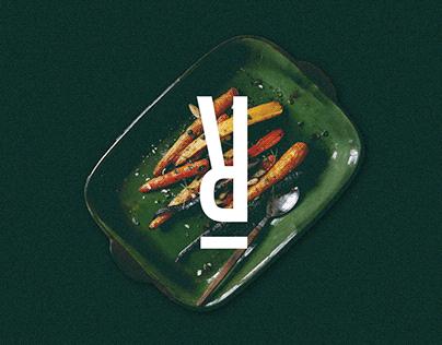 Rabbit restaurant logo + branding design