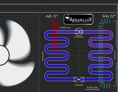 AQUALUX // Pompes à chaleur réversible (Francia)