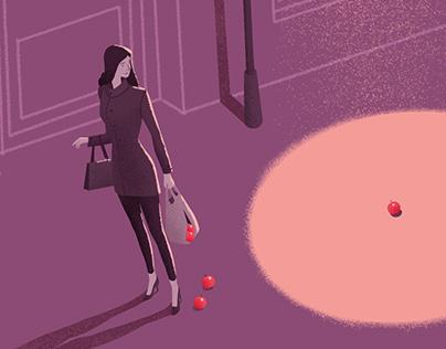 Illustrations for Baltimore magazine