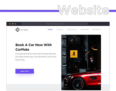 Car Mate website