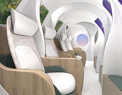 Post-COVID Airline Cabin