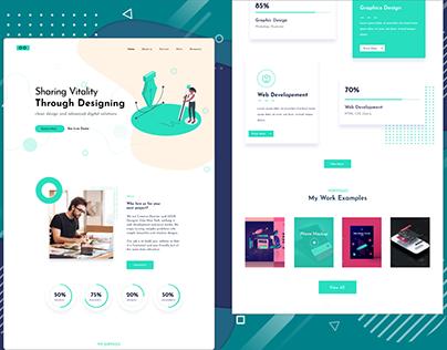 Agency Landing Website Design