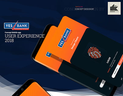Yes Bank Concept Mobile app 2018