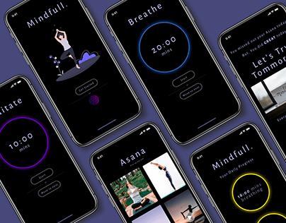 Mental heath mobile App - Mindfull.
