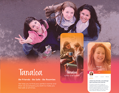 Tanaloa - Find your roomie in a safe and fun way