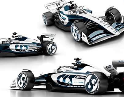 Alpha Tauri F1 2022 - livery concept