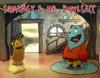 Squangy and mr. Bowlsacc