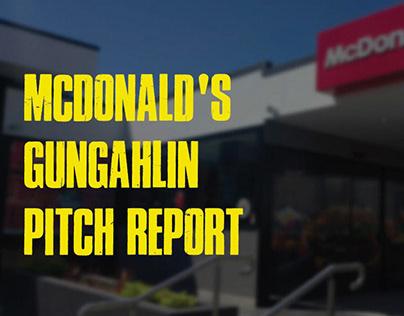 McDonald's Gungahlin Pitch